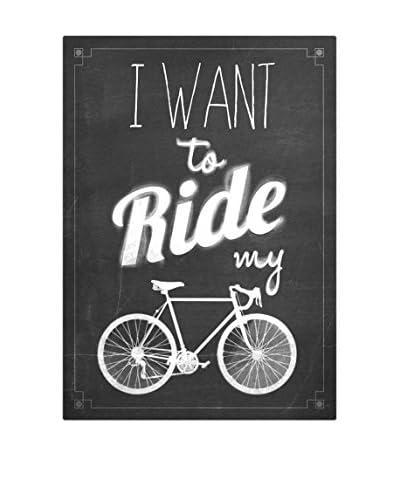 ReallyNiceThings Panel Decorativo Ride My Bike