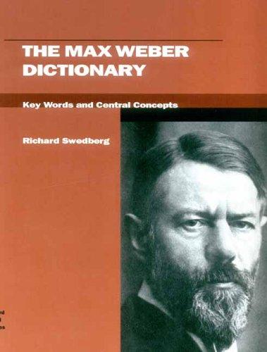 max weber s concept of alienation