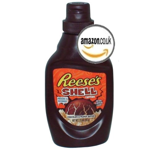 Reese's Chocolate and Peanut Butter Shell Topping 7.25 Oz