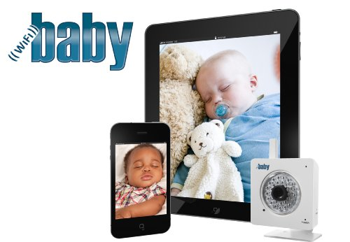 wifi baby video monitor wireless video audio to iphone ipad android. Black Bedroom Furniture Sets. Home Design Ideas