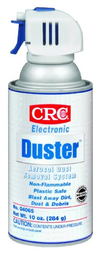 Crc Electronic Duster Dust Removal System, 10 Oz Aerosol