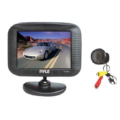 Pyle Plcm35 3.5-Inch Tft Lcd Monitor/Night Vision Rear View Camera front-781779