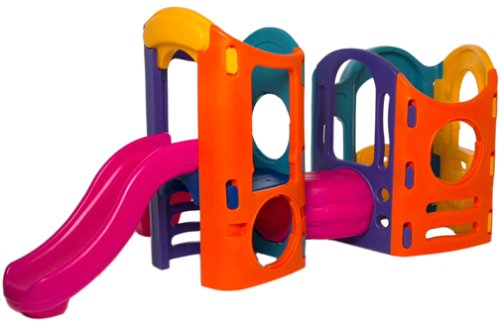 An Image of Little Tikes 8-in-1 Adjustable Playground