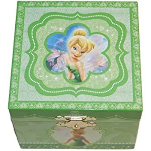 tinkerbell musical jewelry box home kitchen