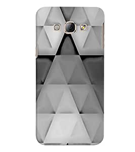 Samsung Galaxy A8 MULTICOLOR PRINTED BACK COVER FROM GADGET LOOKS