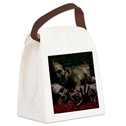 CafePress - The Walking Dead Canvas Lunch Bag - Canvas Lunch Bag with Strap Handle (Walking Dead Cooler Bag compare prices)