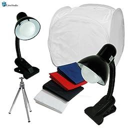 LimoStudio Table Top Photo Box, Lighting Soft Box Photography Lighting 20\