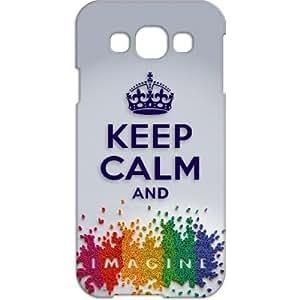 Crackndeal QEO40 Back cover for Samsung Galaxy E5, (Multi-coloured)