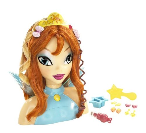 Winx Club Magic Makeover Bloom Styling Head - Buy Winx Club Magic Makeover Bloom Styling Head - Purchase Winx Club Magic Makeover Bloom Styling Head (Mattel, Toys & Games,Categories,Dolls,Playsets,Fashion Doll Playsets)
