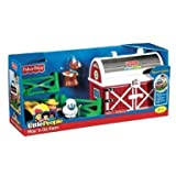 Fisher Price - Little People - Play 'N Go Farm - Exclusive Playset includes Farmer, Sheep & Cow - Y3503