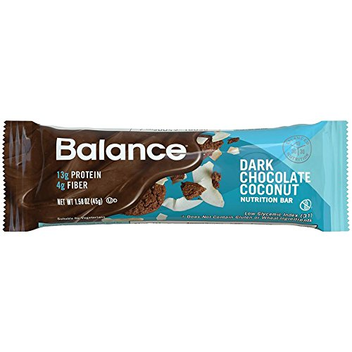 Balance Bar Nutrition Energy Bar, Dark Chocolate Coconut, 15 Count (Balance Energy Bars compare prices)
