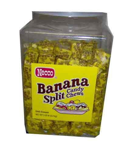 Banana Split Necco Candy (240 count) (Banana Split Candy compare prices)