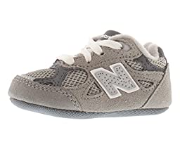 New Balance KJ990 Crib Shoe (Infant/Little Kid),Grey,1 M US Infant