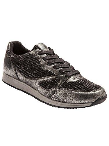 Balsamik - Sneakers bimateriale larghezza comfort - - Size : 37 - Colour : Nero