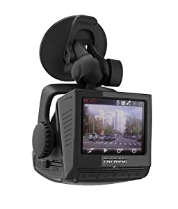 PAPAGO P2PRO-USP 2 Pro Full HD 1080P Dashcam with Built-In GPS and 2.4-Inch LCD (Black)