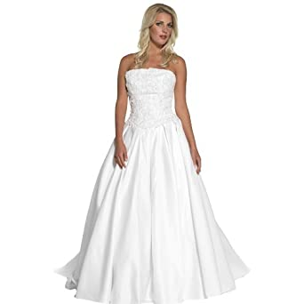 Amazon Informal Bridal Dress Wedding Gown B8020 Clothing