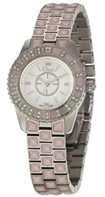 Christian Dior Women's CD112111M002 Christal Stainless-Steel Bracelet Watch by Christian Dior