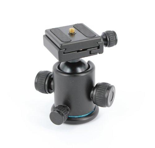 koolertron Universal Tripod Ball Head Ballhead + Quick Release Plate For DSLR Or Video Camera For Nikon Canon