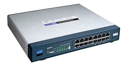 Cisco RV016 16-port 10/100 VPN Router - Multi WAN