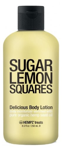 Supre Hempz Treats Sugar Lemon Squares Body Lotion 8.5Oz
