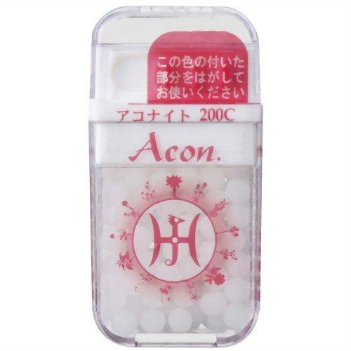 ホメオパシージャパンレメディー キッズ1 Acon. アコナイト 200C 大ビン