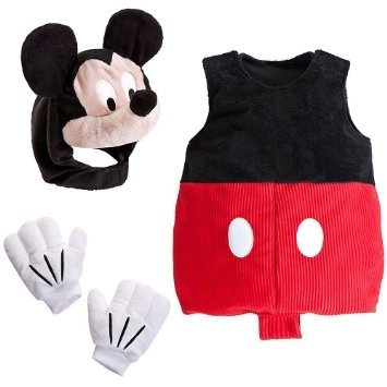 [Disney Store Deluxe Infants Baby Mickey Mouse Costume Size 3-6 Months] (Toddler Frog Prince Halloween Costume)