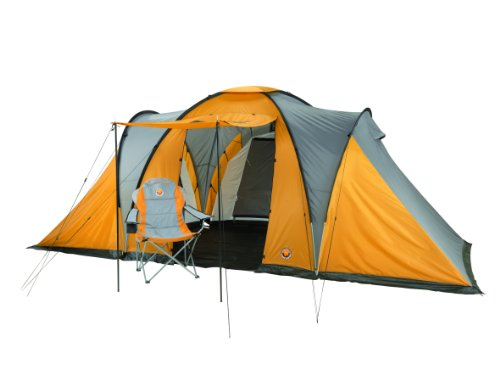 Grand Canyon Daytona XX-Large 6 Person Tent - Stone/Sand