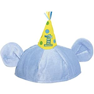Disney Baby Mickey Mouse 1st Birthday Ears Novelty Party Hat from Amscan