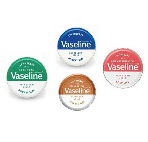 Vaseline Lip Therapy ヴァセリン 20g 4種セット