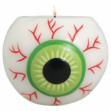 Eyeball Moulded Candle Holder And Tea Light by Amscan