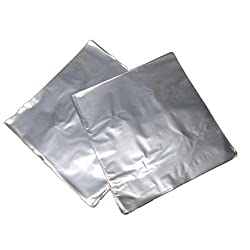Shrink Wrap 4x4 Perforated Clear Bands for Soap - 100 Pack