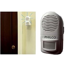 """PHILCO"" PIR WIRELESS MOTION SENSOR ALARM AND CHIME"