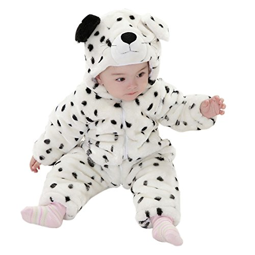 Meilaier Winter Newborn Romper Animal Polar Bear Toddler Infant Baby Onesie Outfits Suit Halloween Costume