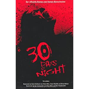 30 Days of Night, Roman zum Film