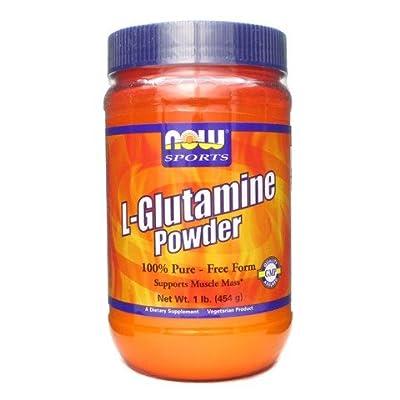 NOW Foods Sports L-Glutamine Powder -- 3-Pound ,NOW-s4