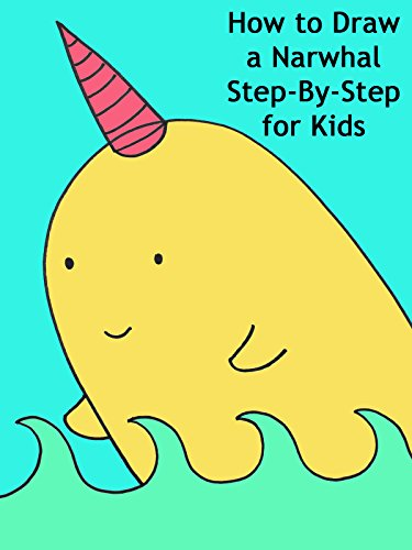 How to Draw a Narwhal Step-By-Step for Kids