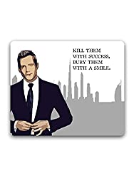 Madanyu - Suits - Harvey Specter Quote - Mousepad - For Gamers - HD Print