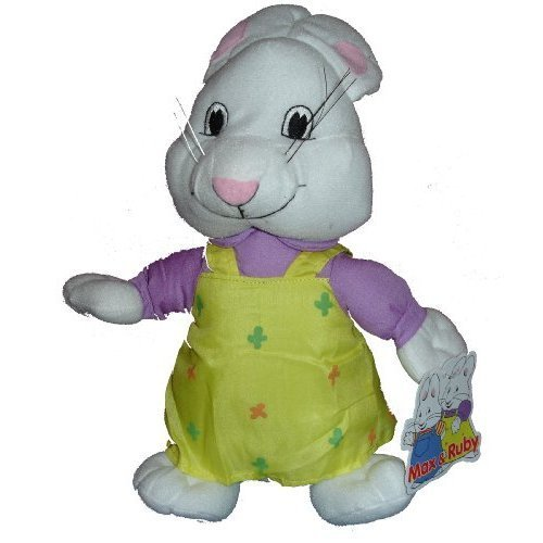 "Max and Ruby 14"" Ruby Plush Doll Toy (Ruby Only)"