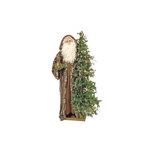 57 Ditz Father Christmas Tree Santa Majestic Birds