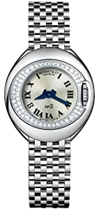 Bedat No. 2 Stainless Steel & Diamond Womens Luxury Swiss Watch 227.031.600 from watchmaker Bedat & Co.