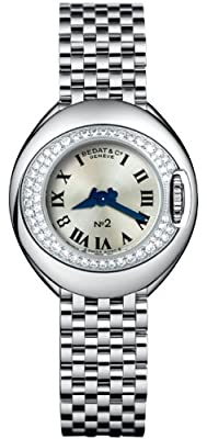 Bedat No. 2 Stainless Steel & Diamond Womens Luxury Swiss Watch 227.031.600