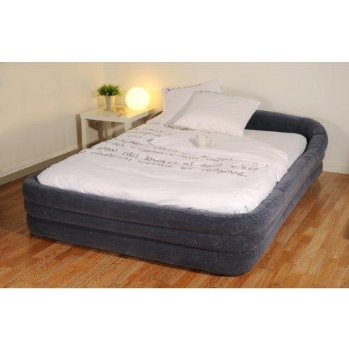rewowa intex lit d 39 appoint premium intex 2 places bleu. Black Bedroom Furniture Sets. Home Design Ideas