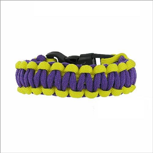 JOA Two Color Paracord Braided Bracelet #040876