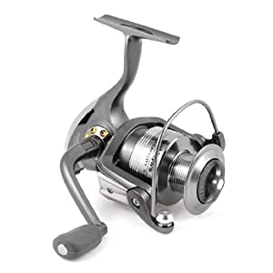 Como 4.7:1 Gear Ratio 5 Ball Bearing Dark Gray Foldable Fishing Spinning Reel from Como