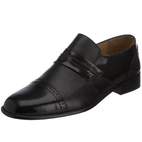 Rombah Wallace Men's Rutland Slip-on Black/grain 8295 12 UK