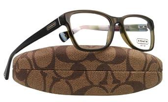 Coach Eyeglass Frames Hc6013 : Coach Eyeglasses HC 6013 5030 OLIVE JULAYNE 52MM: Amazon ...