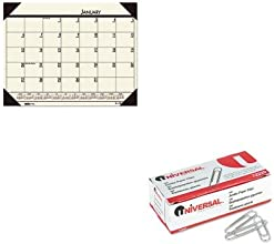 KITHOD12443UNV72220 - Value Kit - House Of Doolittle EcoTones Desert Tan Monthly Desk Pad Calendar H
