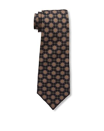 Kiton Men's Silk Tie, Black/Multi