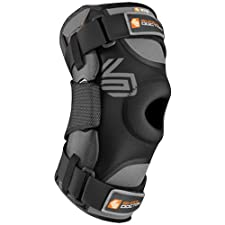 Troy Lee Designs Shock Doctor 875 Ultra Adult Knee Support Motocross Motorcycle Body Armor - Black / Large
