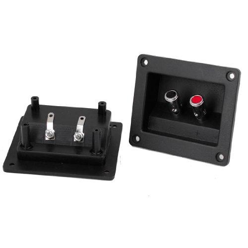 2Pcs Speaker Box Push Spring Type Binding Post Terminal Connector